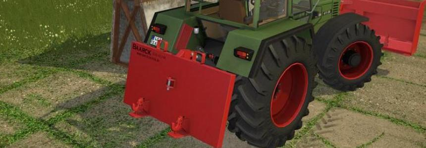 Baarck rear 1800 kg v1.0.0
