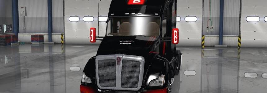 Bitdefender Skin for SCS Kenworth T680 v1.0