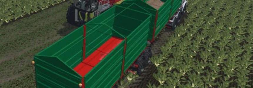 Bitrem agricultural trailer v1.0
