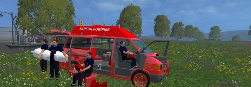 Camion atlelier speciale pompier v1