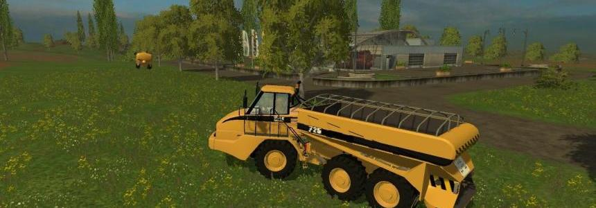 Cat 725A Solid Manure Spreader v1.0