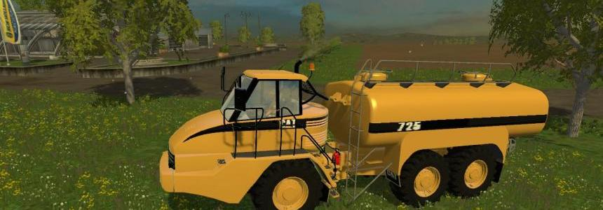 Cat 725A Water and Liquid Manure Tanker v1.0