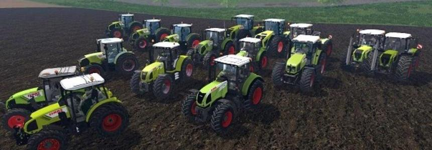 CLAAS TRACTORS PACK v1.0