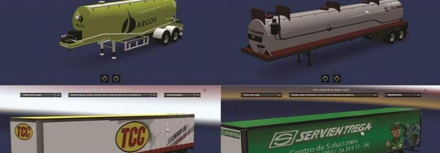 Colombianas Companies Trailers Skin Pack
