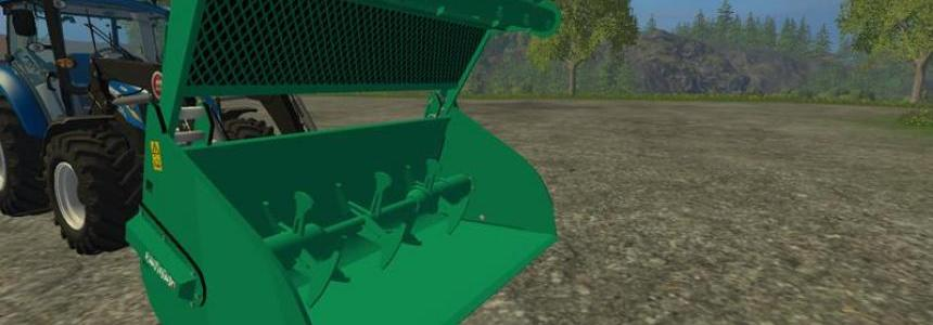 Compound feed shovel telescopic handlers v1.0