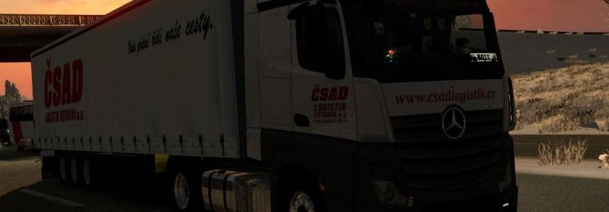 Csad Logistik Ostrava mp4 combo skin by Paul 1.22.x