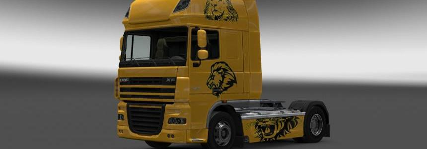 DAF Lion Tribal Skin v1
