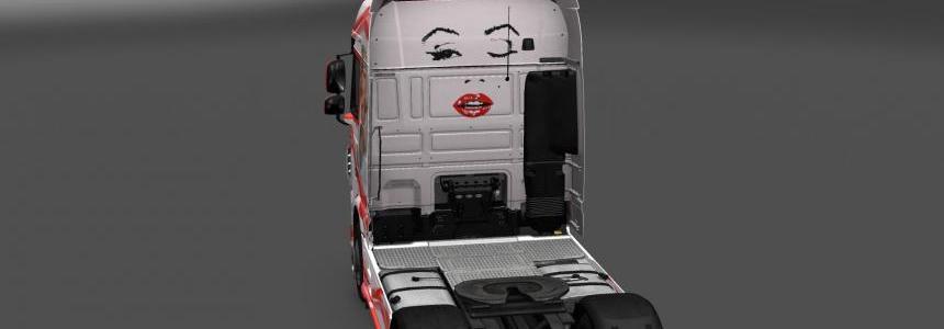 DAF XF E6 Marylin Monroe Skin