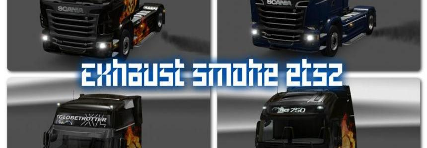 Exhaust Smoke ETS2 v1