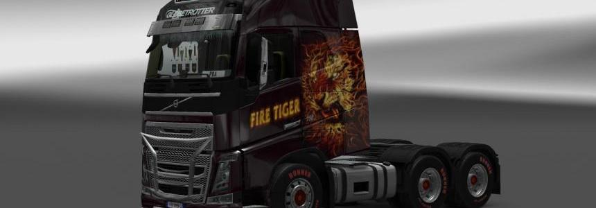 Fire Tiger Combo Skin