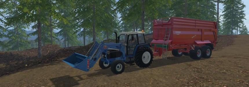 Ford 6640 With front loader v1