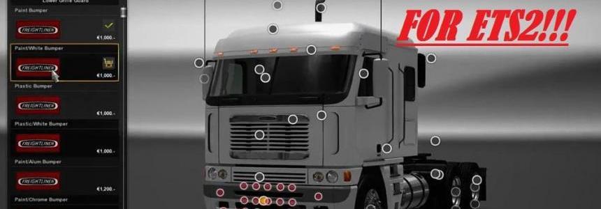 Freightliner Argosy Reworked  for ETS2 v2.0
