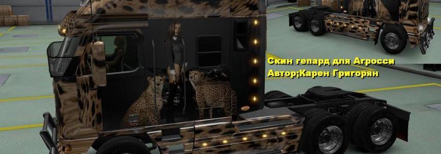 Freightliner Argosy Reworked Gepard Skin