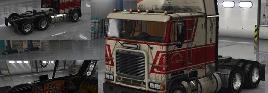 Freightliner FLB Reskin with Sherman Bros. paintjob v1.0