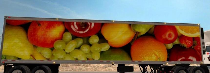 Fresh Fruits standalone reefer trailer