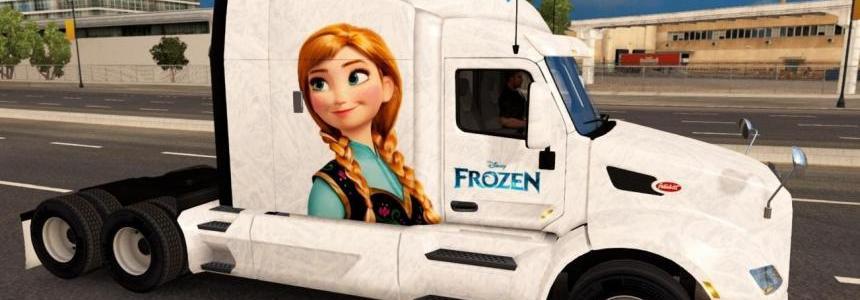 Frozen Peterbilt 579 skin