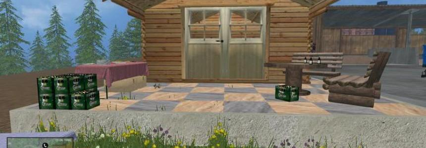 Garden house for self man v1.1 platzierbar