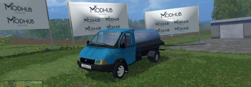 Gazel 3302 UDLIN Water v1.0