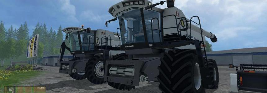 Gleaner Combine updated added soybean v1