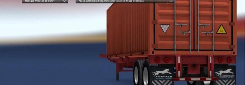 Gooseneck Trailer Real Manufacturer (Cheetah Chassis) v1
