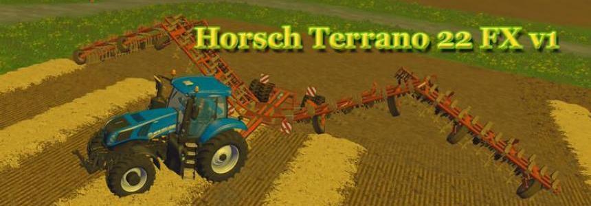 Horsch Terrano 22 FX v1.0