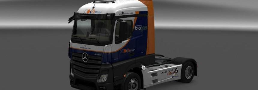 Howard Tenens Mercedes MP4 Skin 1.22