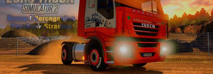Iveco Strails FAB Truck Skin v1.7