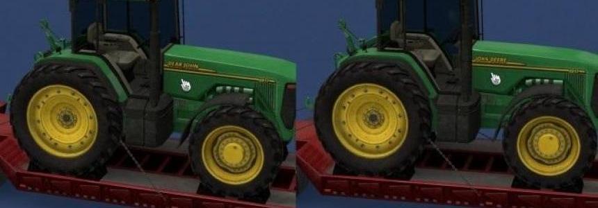 John Deere tractor logo fixed