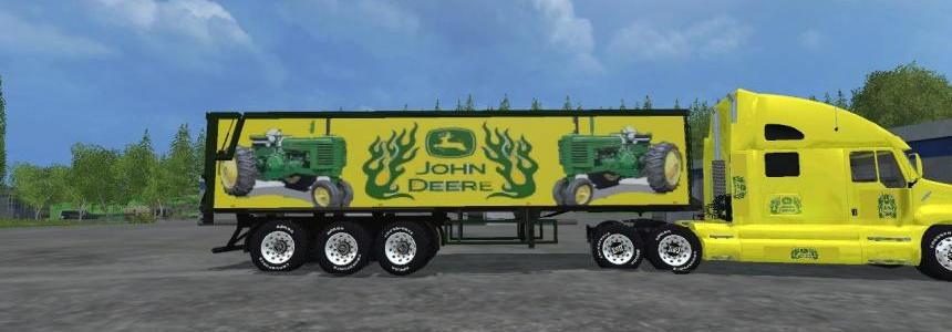 John Deere KW CatTruck and John Deere Semi Trailer By Eagle355th