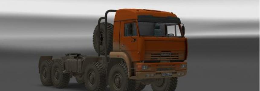 KAMAZ 54-64-65 Addon Dirt 1.22.x