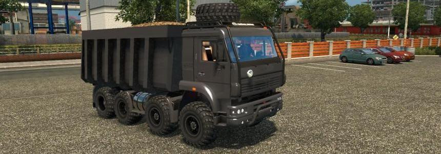 Kamaz 8x8 Monster v1.0