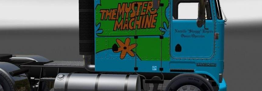 Kenworth K100 Mystery Machine Skin