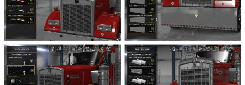 Kenworth W900 Accessories Pack v1.1