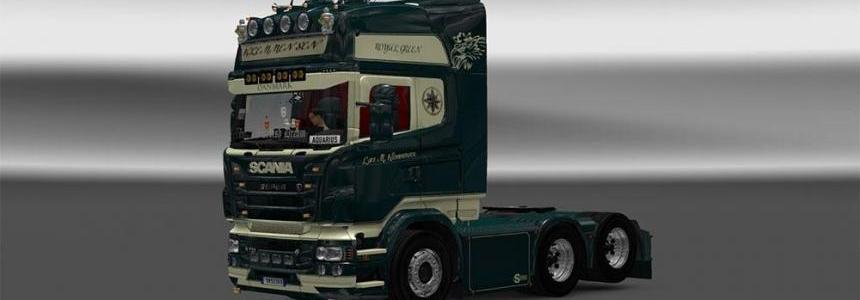 Klemmensen Scania Rjl skin