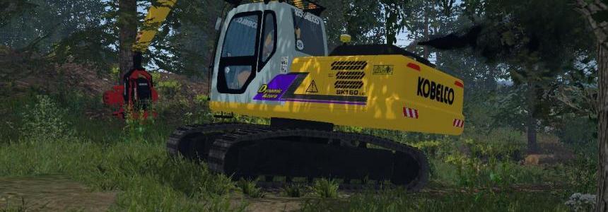 Kobelco SK160 Abatteuse V1.0