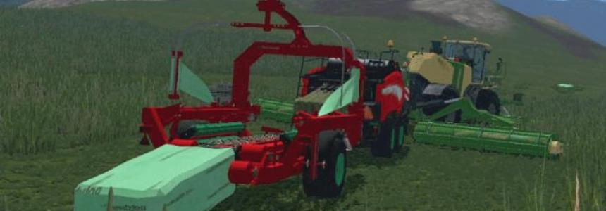 Kverneland green silage Package for square bales v1.0