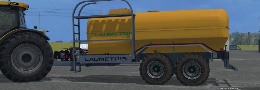 Laumetris tank-trailer PTL-12 v1