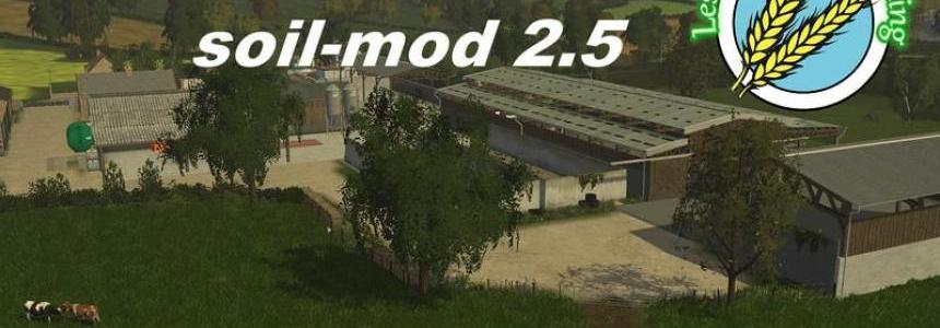 Les Chazets SoilMod V2.5