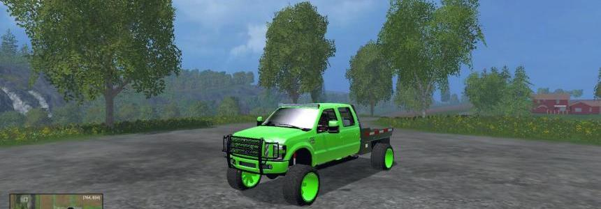 Lifted ford f350 work truck v1.0