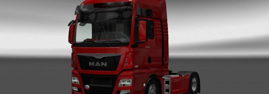 MADsters MAN TGX EURO 6 Interior / Exterior Rework v1