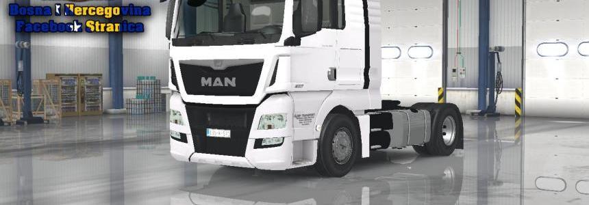 MAN TGX E6 DMDE Skin v1.0