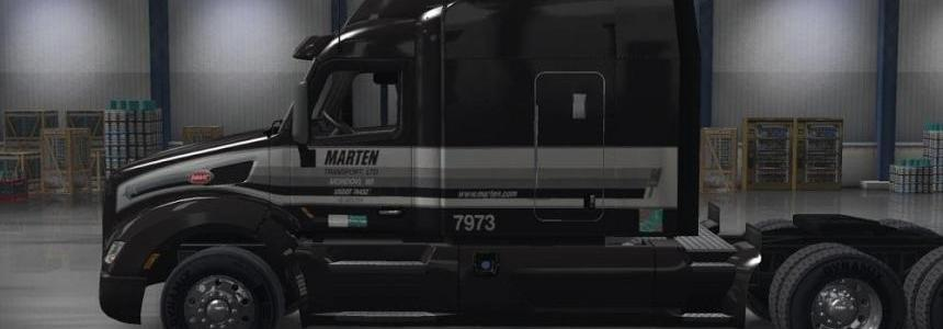 Marten Transport LTD skin for the ATS Peterbilt 579