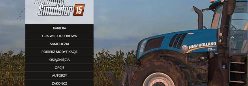 Menu FS15 by Kiepson112