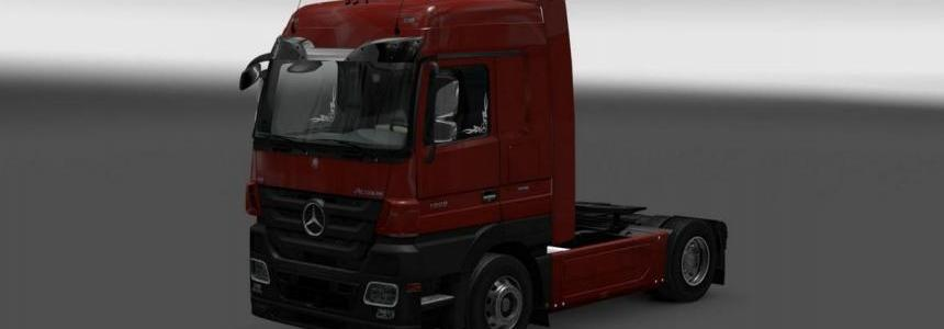 Mercedes Actros MP3 Reworked v1.1