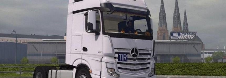 Mercedes Actros MP4 v1