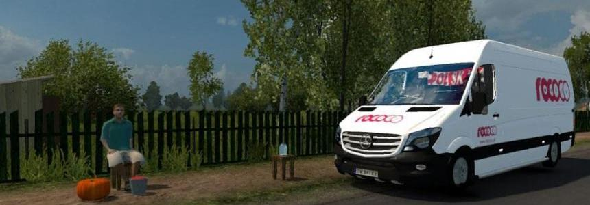Mercedes Sprinter Long 2014 By Klolo901