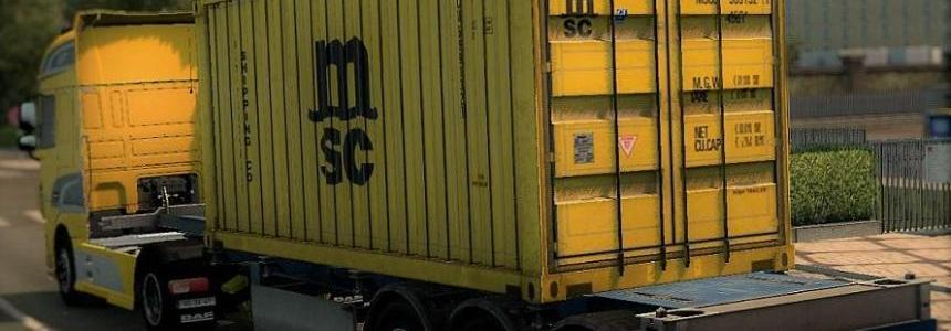 MSC Container Trailer