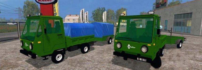 MultiCar + Trailer ROS v1.0