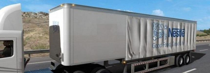 Nestle cutain trailer