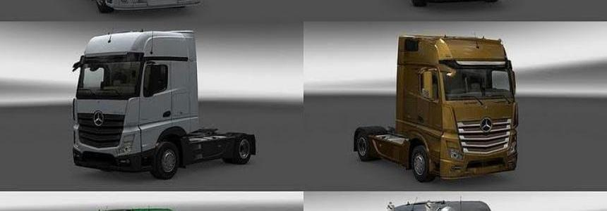 New Actros plastic parts and more v3.1.4